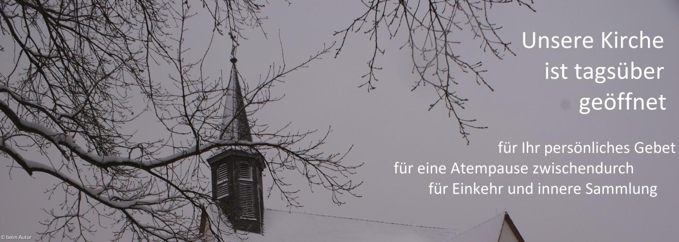 Kirche Peter und Paul im Winter